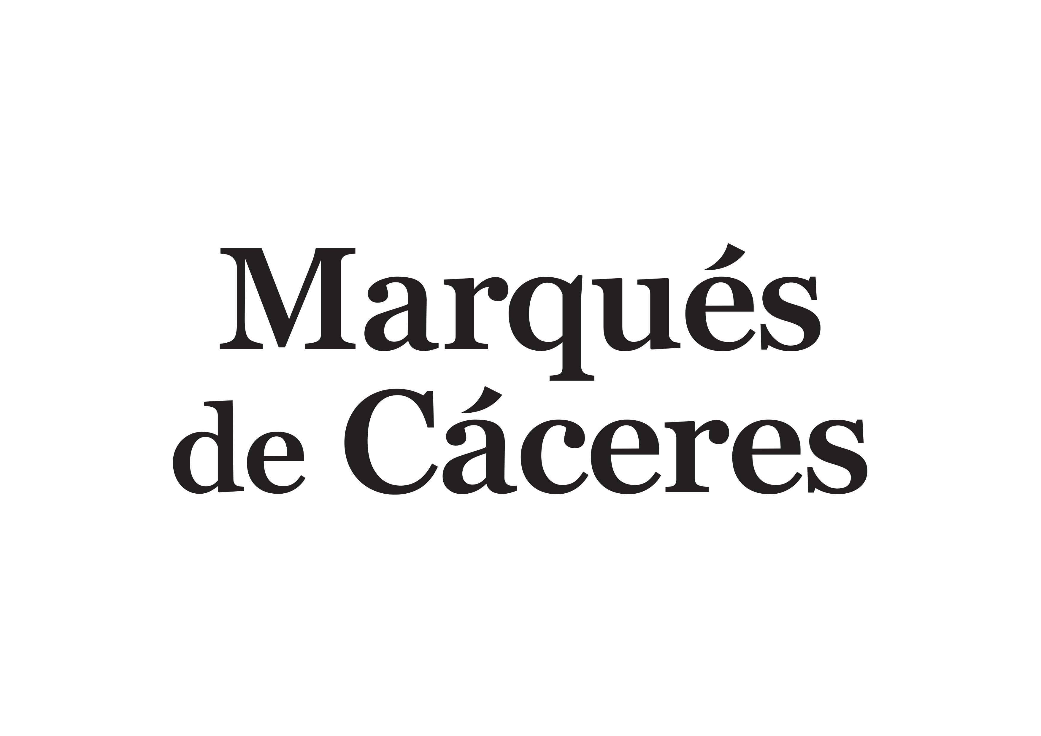 MARQUES DE CACERES