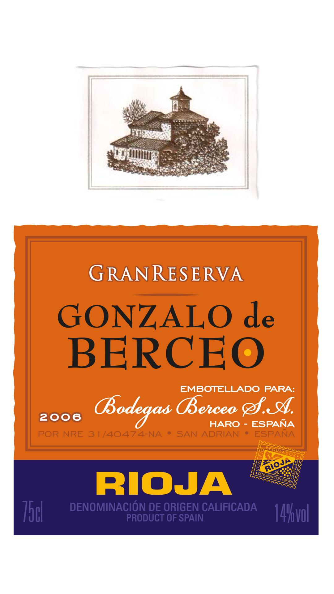 Gonzalo De Berceo Gran Reserva