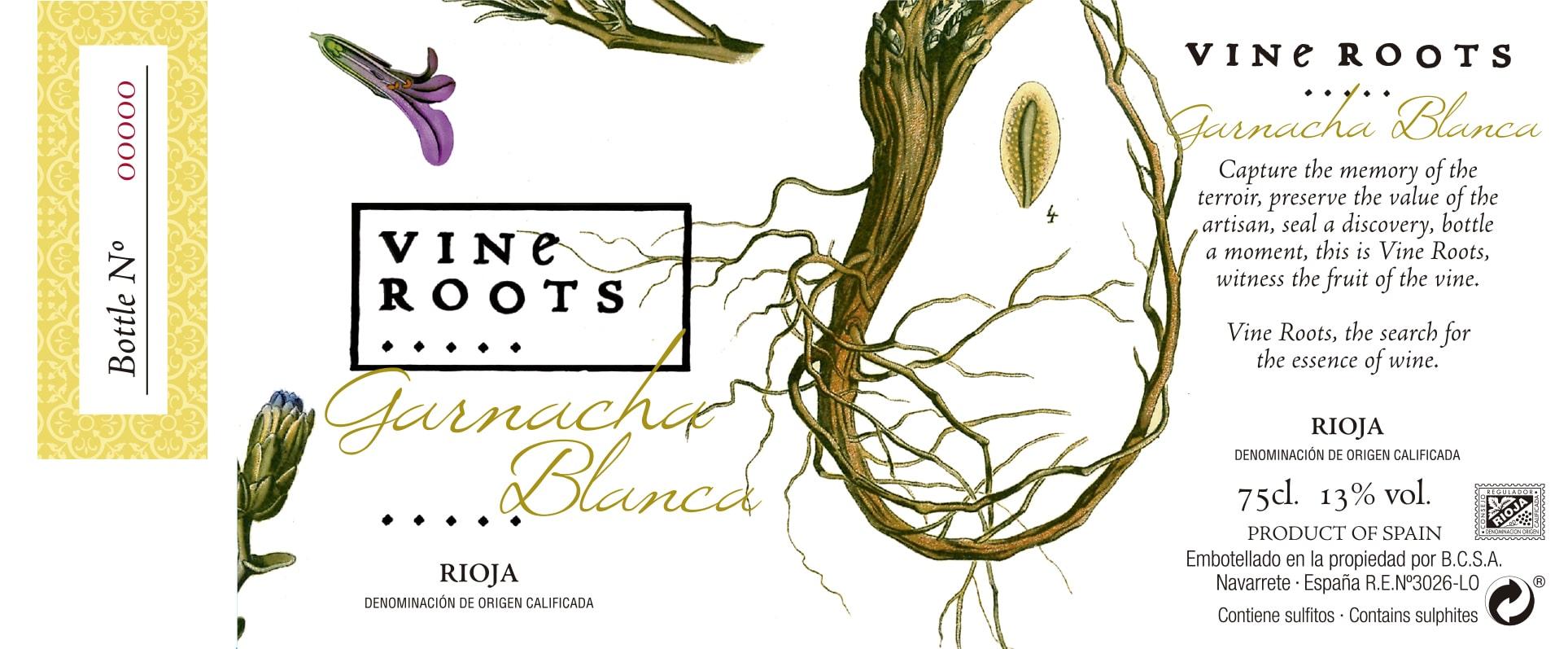Vine Roots Garnacha Blanca Ecológico