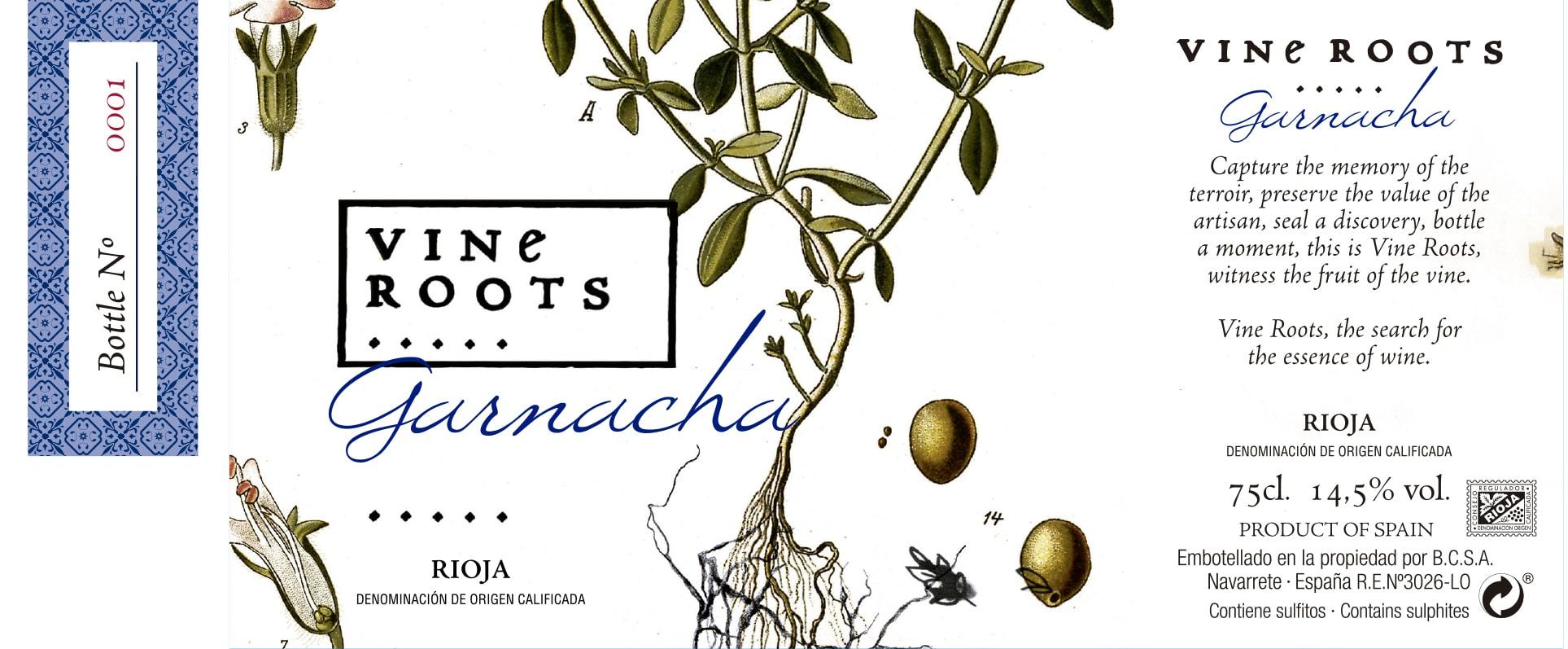 Vine Roots Garnacha Tinta Ecológico