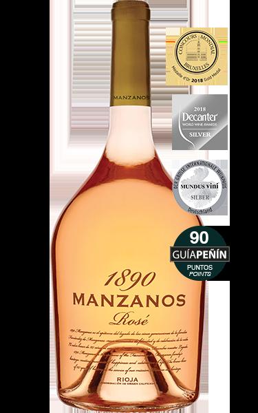 1890 Manzanos  Rosé