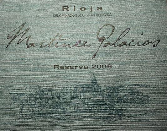 Martínez Palacios Reserva