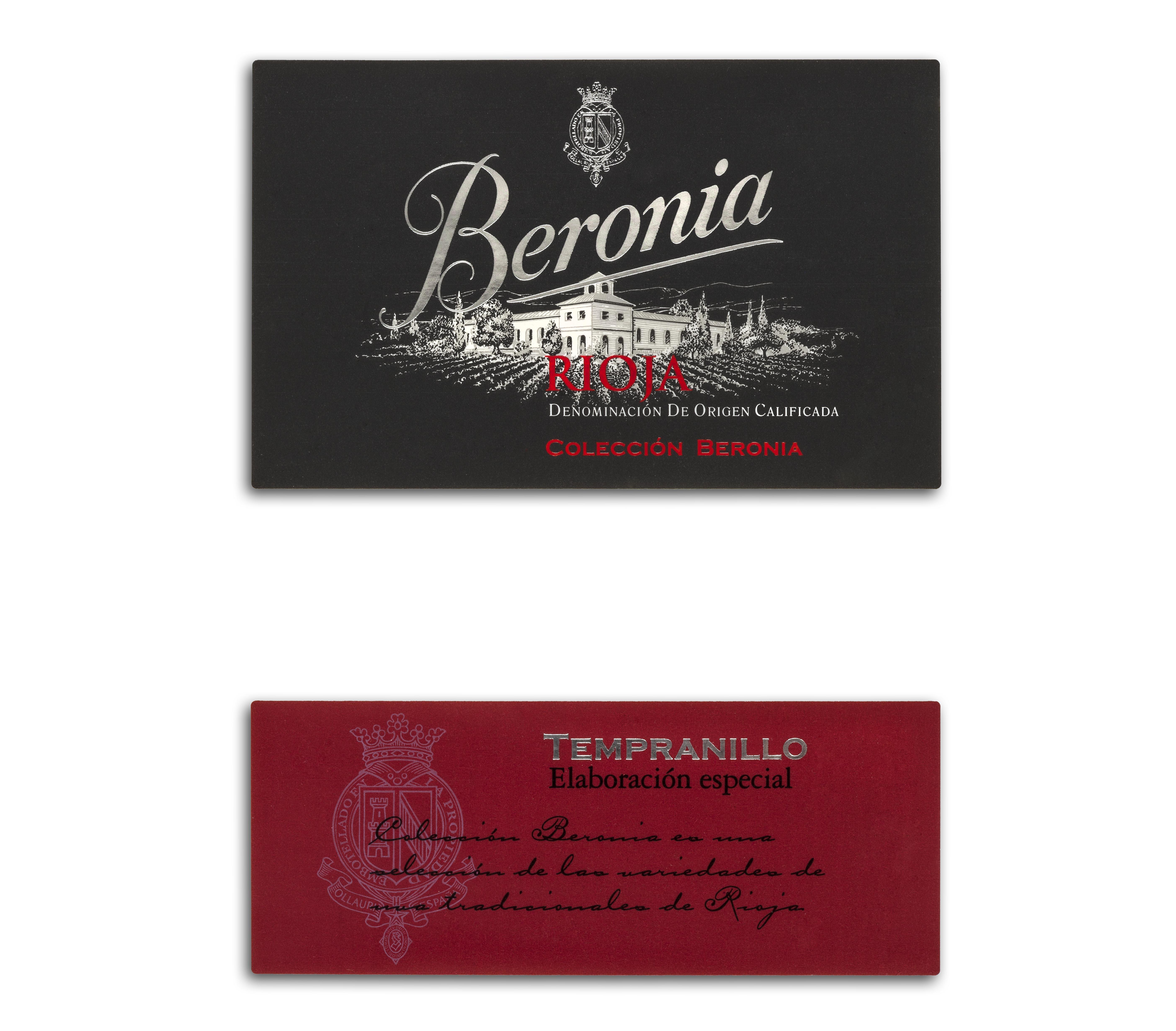 Beronia Tempranillo Elaboración Especial