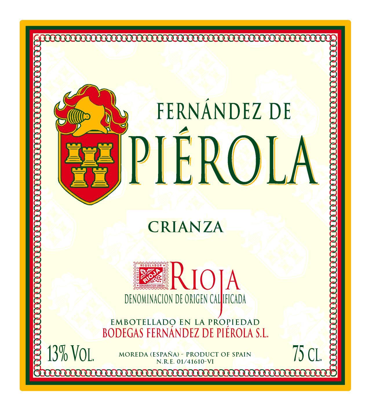 Fernández De Piérola Crianza