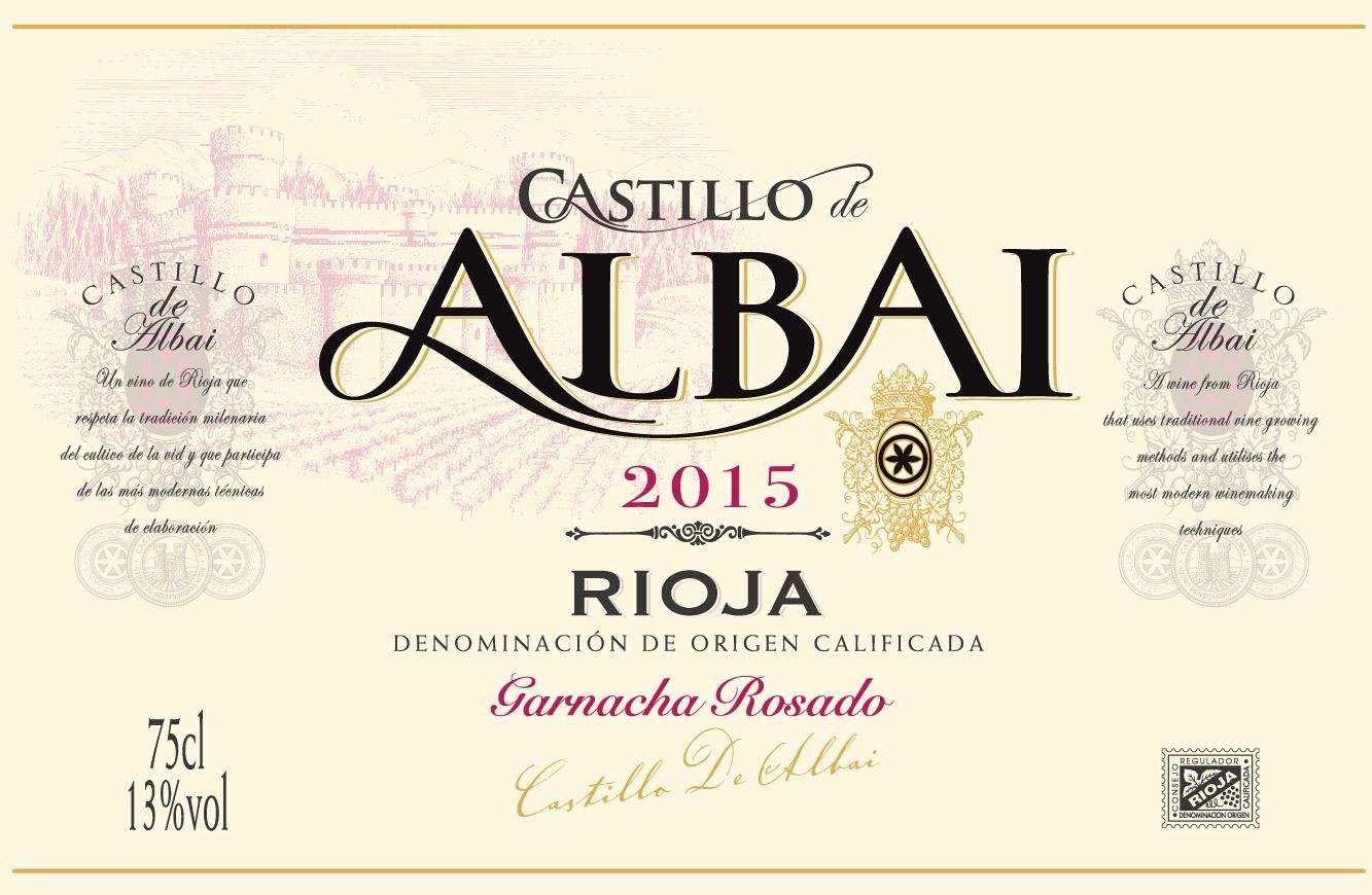Castillo De Albai Rosado