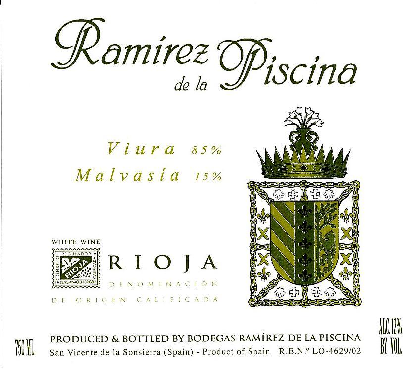 Ramirez De La Piscina Blanco