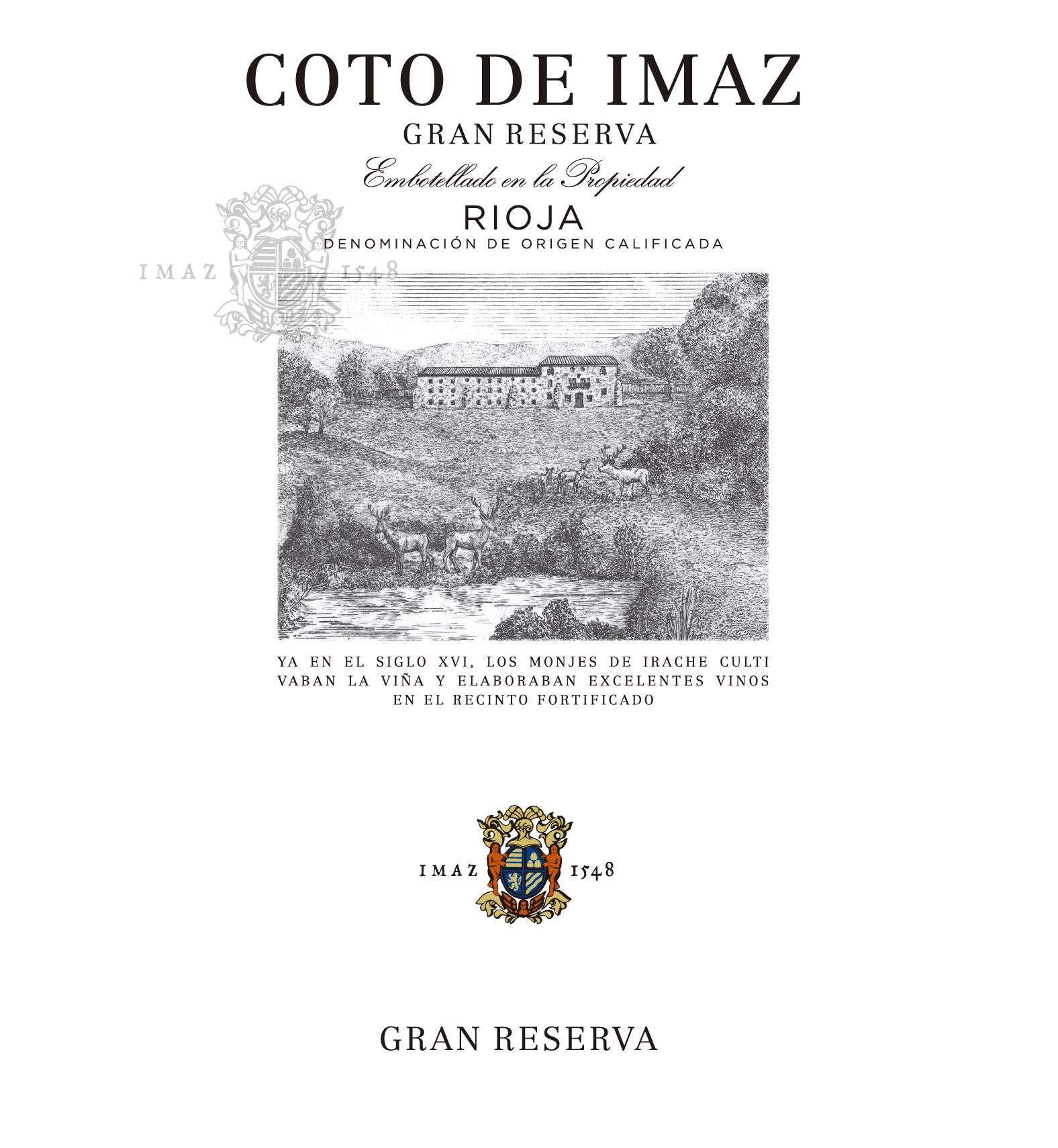 Coto De Imaz Gran Reserva