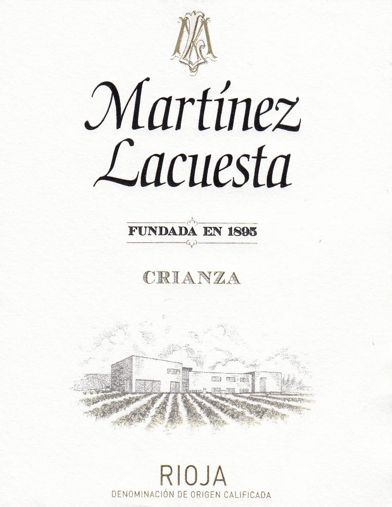 Martínez Lacuesta Crianza