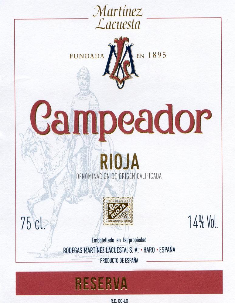 Campeador Reserva