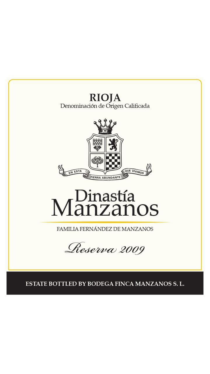 Dinastía Manzanos Reserva