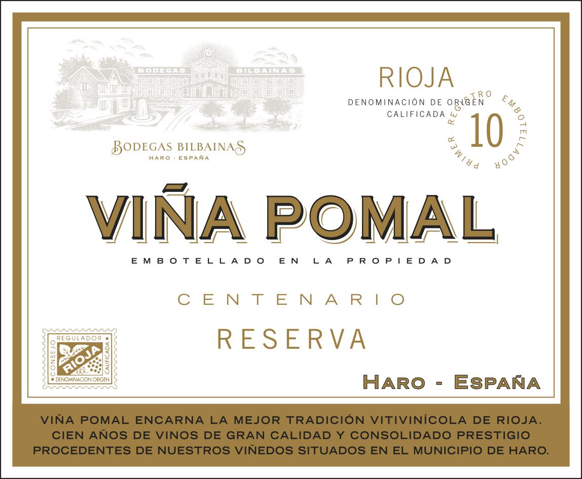 Viña Pomal Reserva Centenario