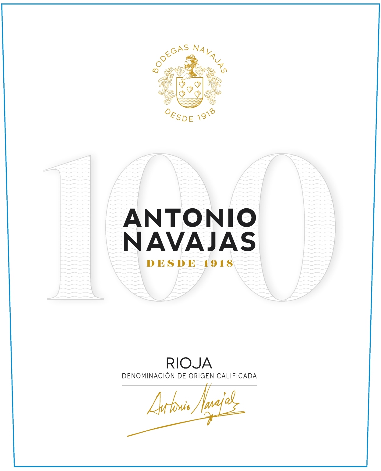 Antonio Navajas - Vino Del Centenario