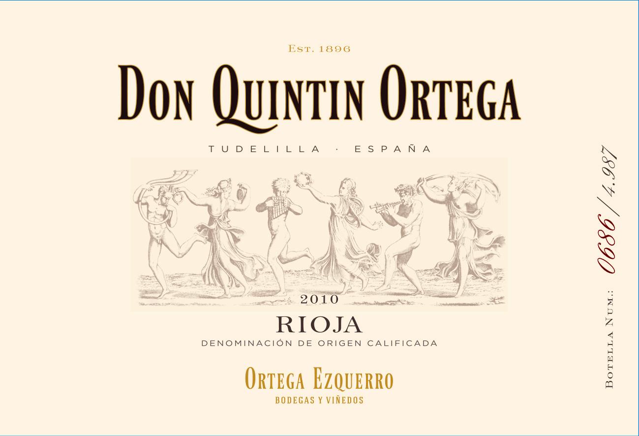 Don Quintín Ortega Autor Tinto - Finca El Monte
