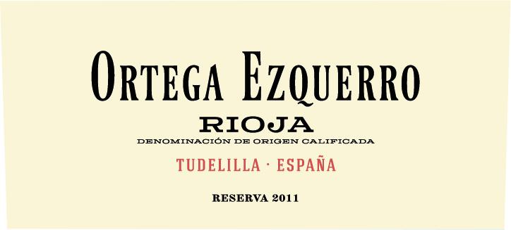 Ortega Ezquerro Reserva
