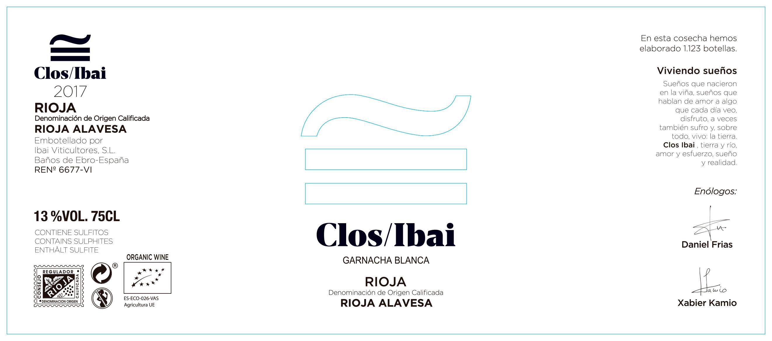 Clos Ibai Garnacha Blanca
