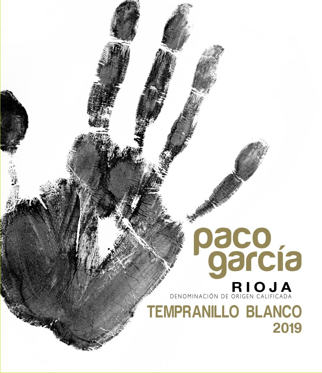 Paco García Tempranillo Blanco