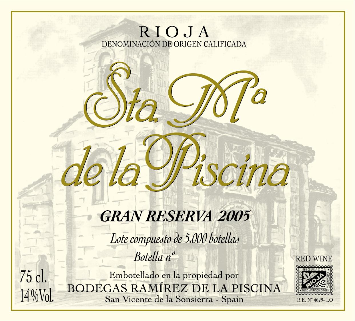 Santa María De La Piscina Gran Reserva