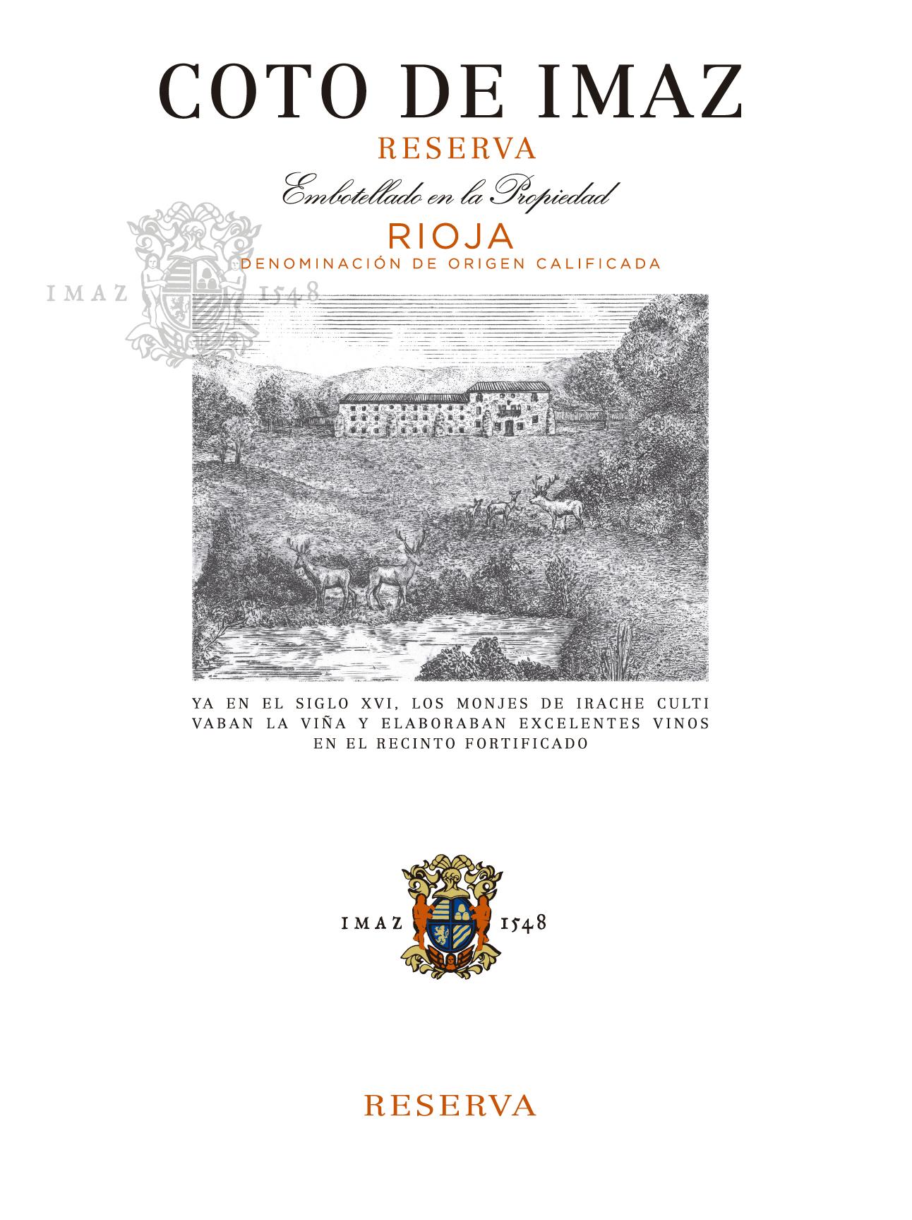 Coto De Imaz Reserva