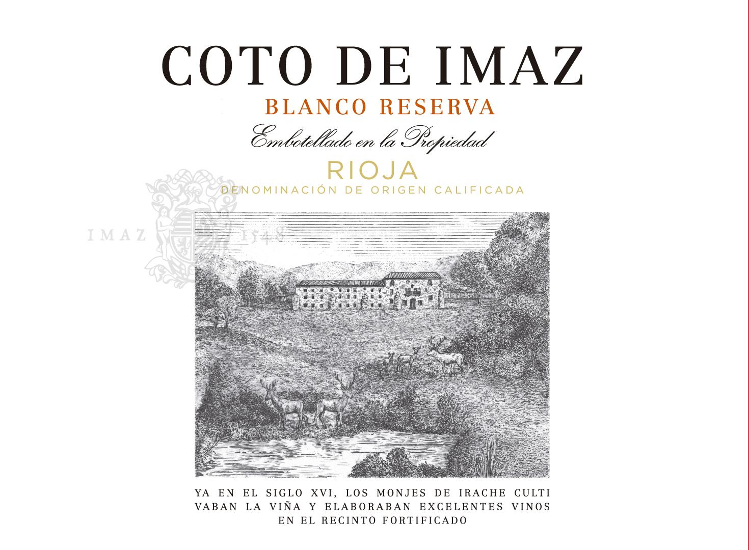 Coto De Imaz Reserva Blanco