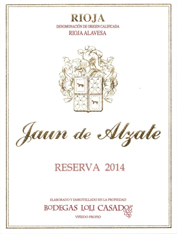 Jaun De Alzate Reserva