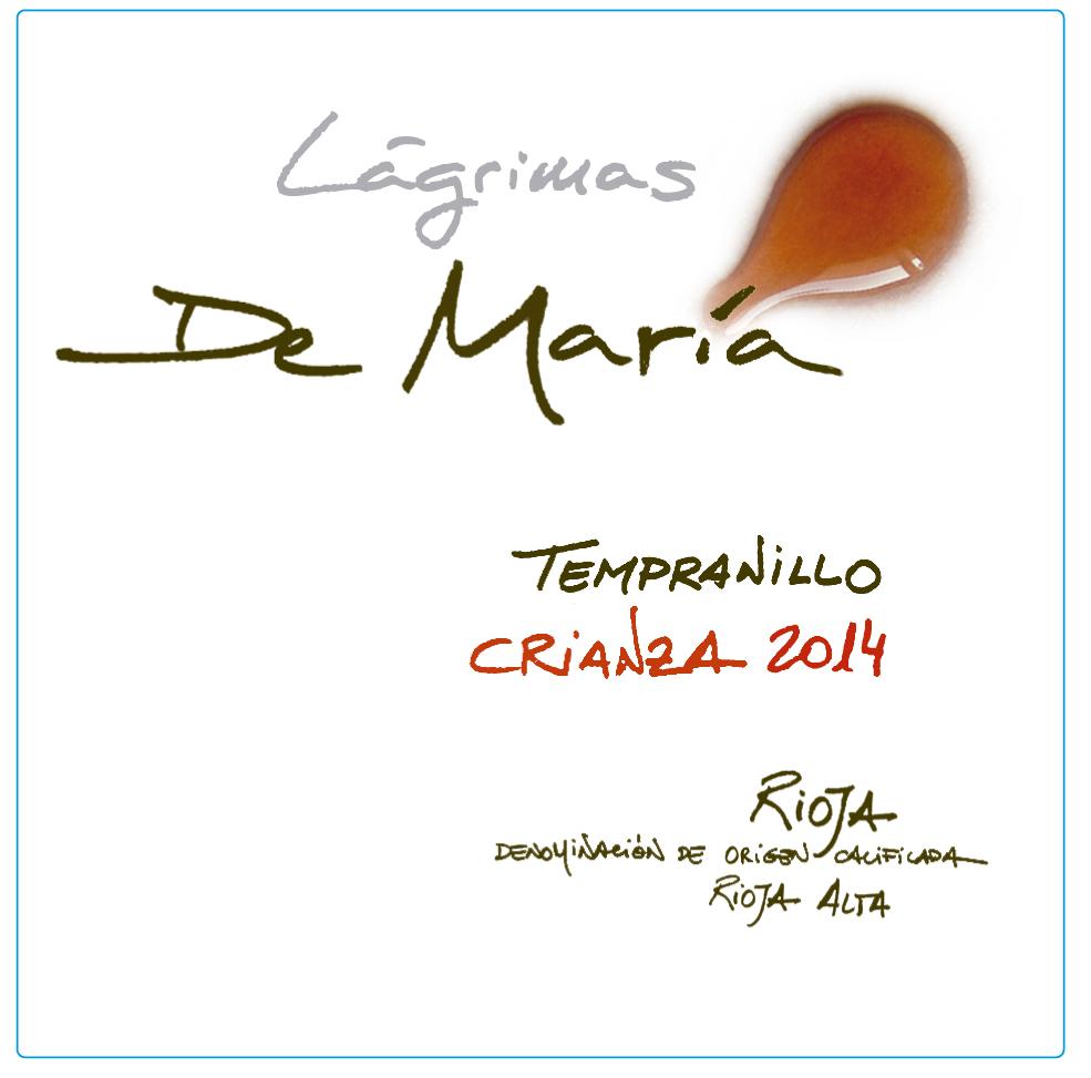 Lágrimas De María Tempranillo Crianza