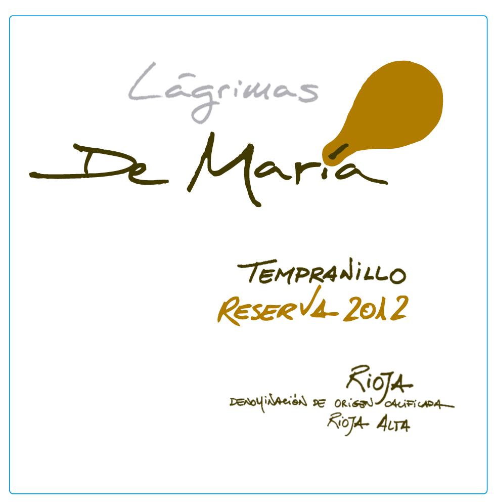 Lágrimas De María Tempranillo Reserva