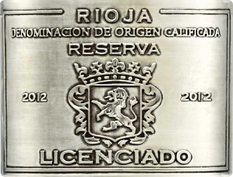 Licenciado Reserva 2012