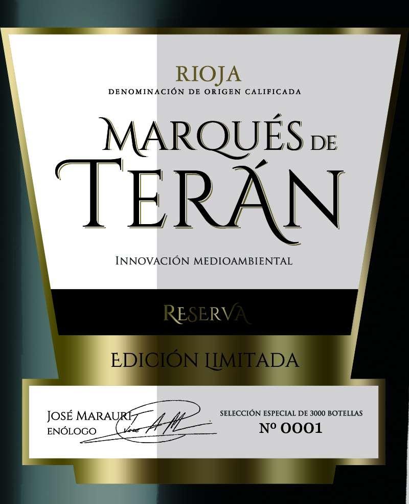 Marqués De Terán Reserva Edición Limitada