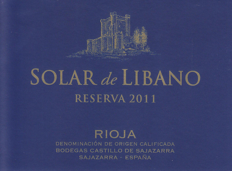 Solar De Líbano Reserva