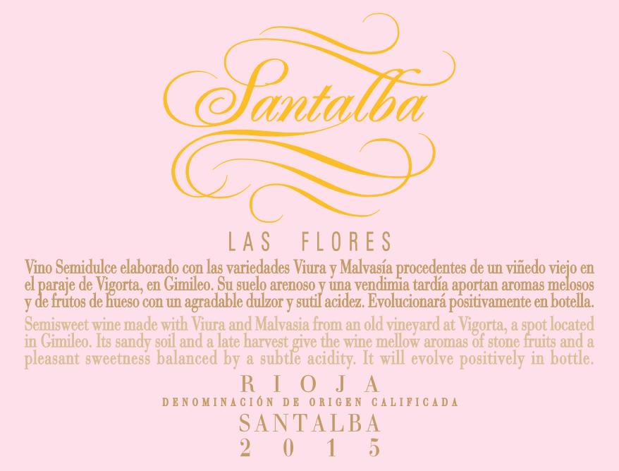 Santalba Las Flores - Semidulce