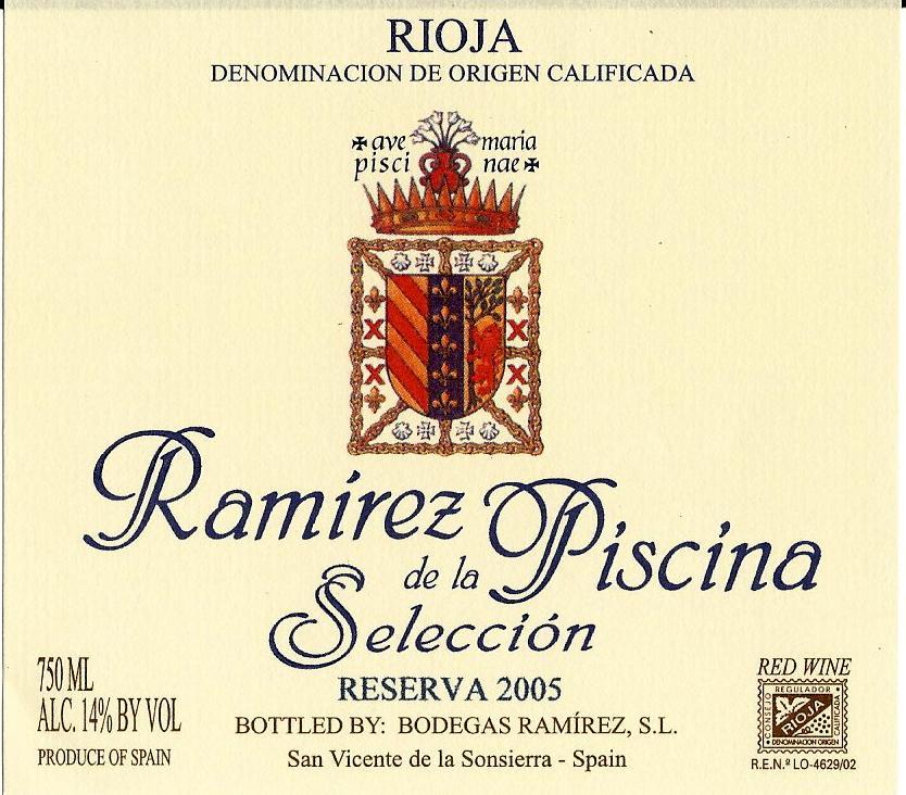 Ramírez De La Piscina Selección