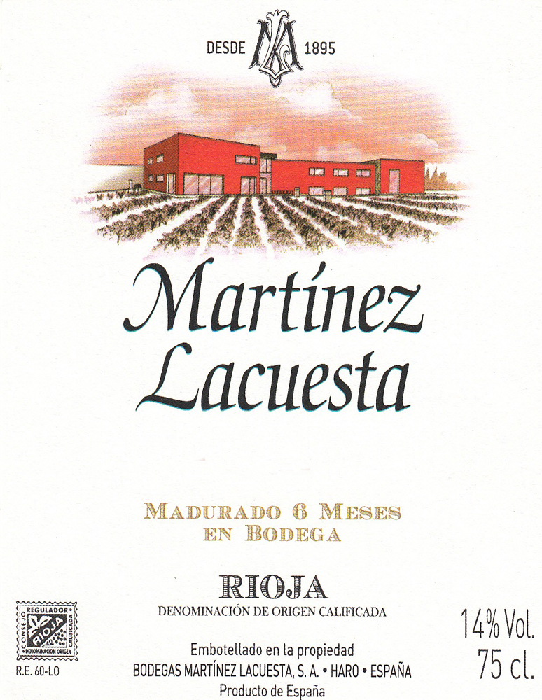 Gran Reserva Martinez Lacuesta