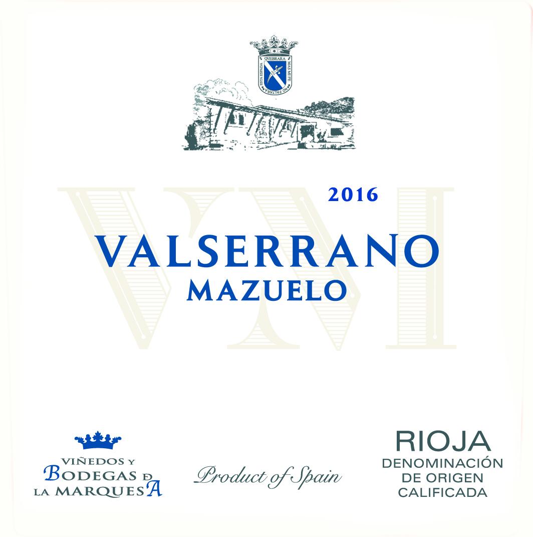 Valserrano  Mazuelo 2016