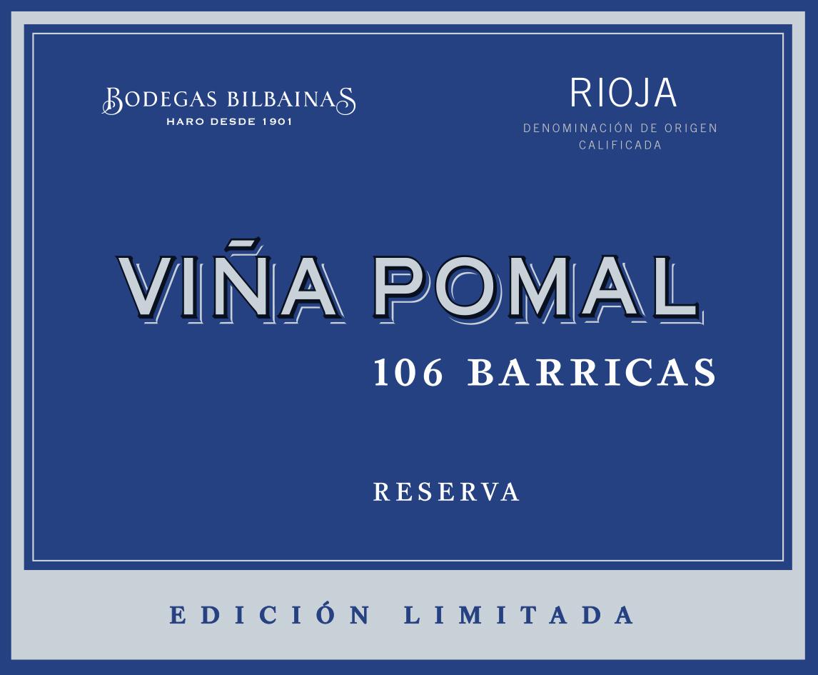 Viña Pomal Reserva 106 Barricas