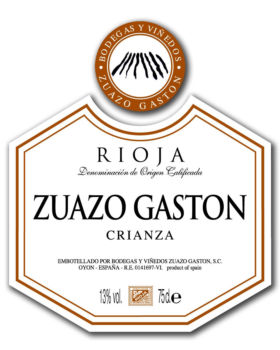Zuazo Gaston Crianza