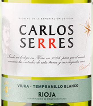 Carlos Serres Viura-tempranillo Blanco