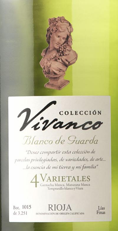 Colección Vivanco 4 Varietales Blanco De Guarda