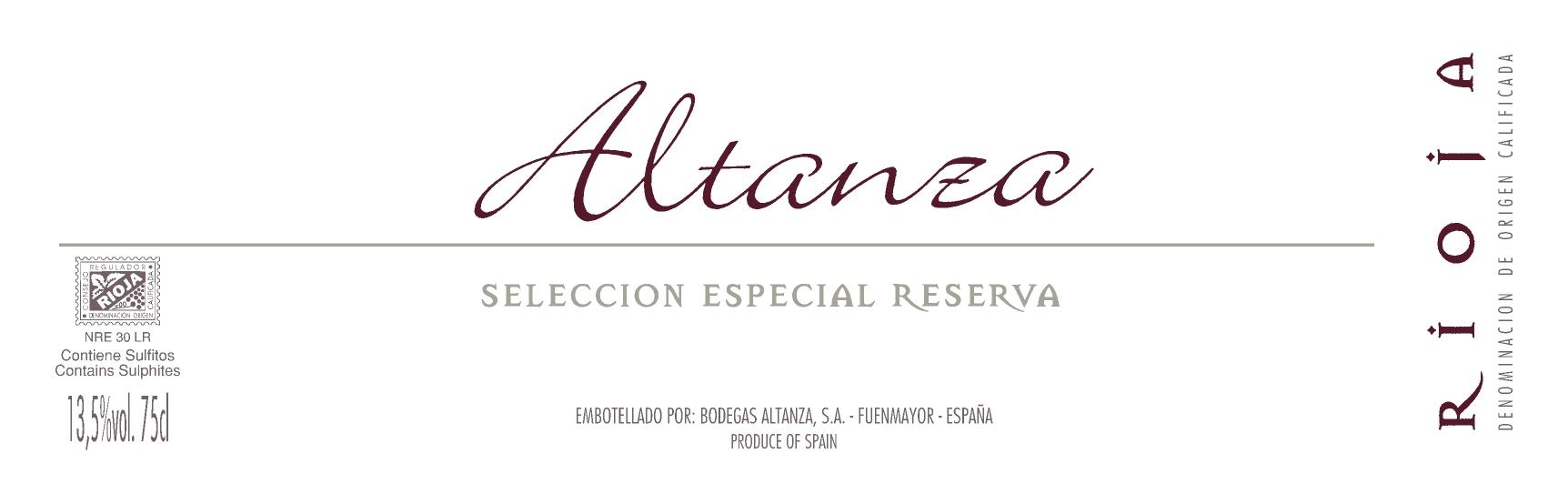 Altanza Selección Especial