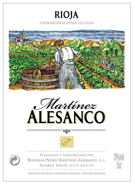 Martínez Alesanco Clarete / Rosado