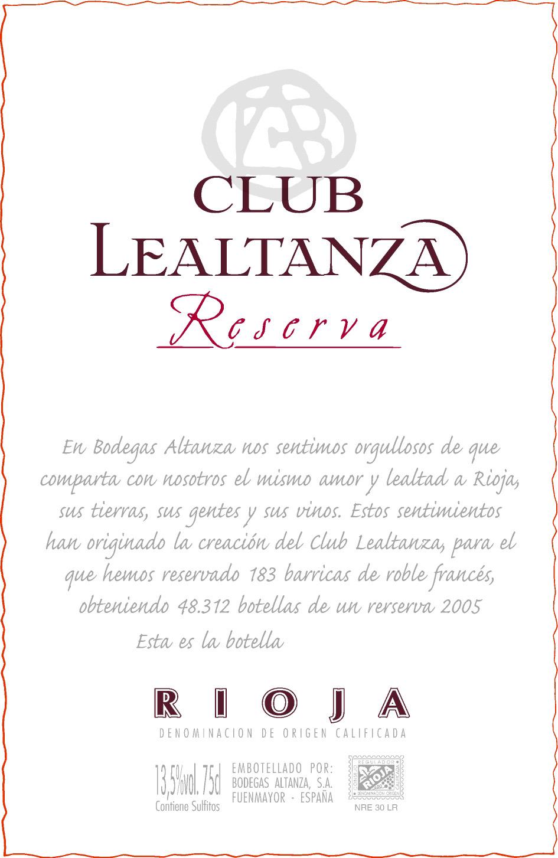 Club Lealtanza
